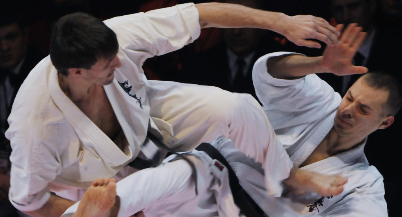Боевое искусство киокусинкай