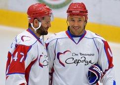 Александр Радулов (слева) и Илья Ковальчук