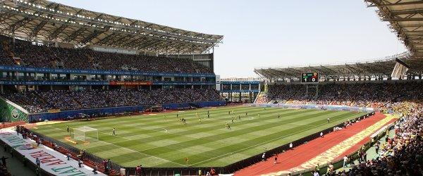 Стадион Ахмат-Арена в Грозном