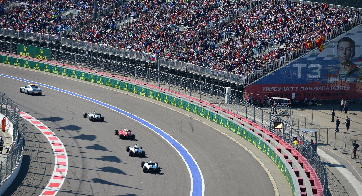 Сочи примет этап «Формулы-2» вконце сентября