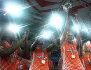 Игроки баскетбольного клуба УГМК