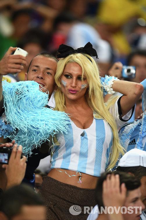 Болельщицы аргентины