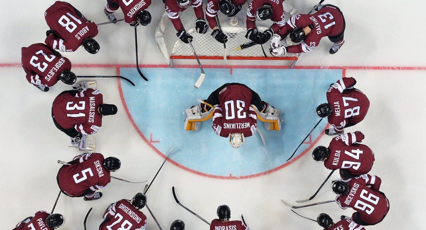 Игроки сборной Латвии