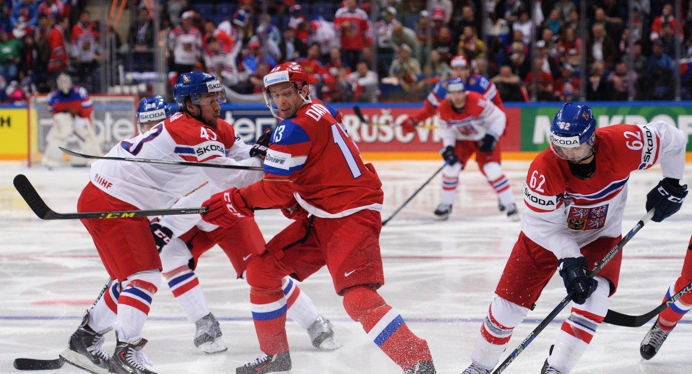 Чм по хоккею россия чехия история встреч
