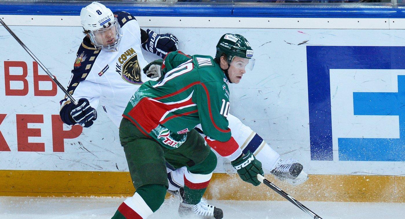 Игорь Мирнов (справа) и  Зият Пайгин