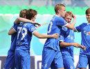 Футболисты молодежного состава московского Динамо