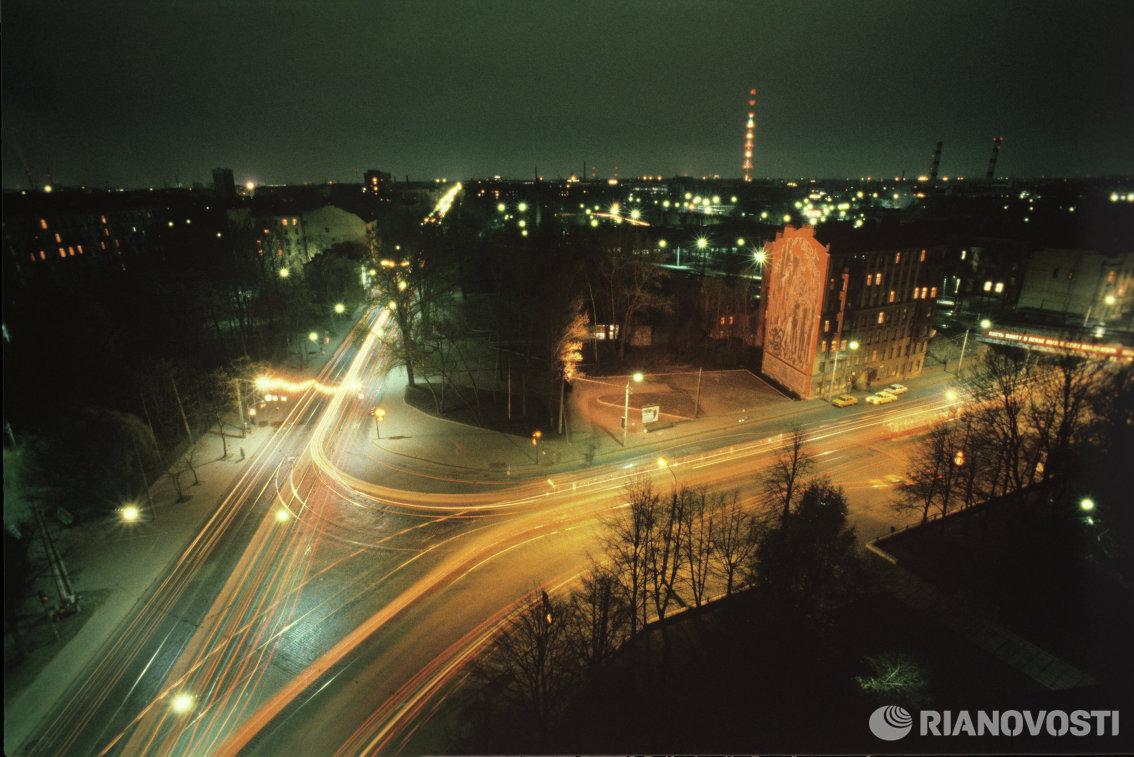 Проспект Карла Маркса в Ленинграде (ныне Большой Сампсониевский проспект в Санкт-Петербурге)