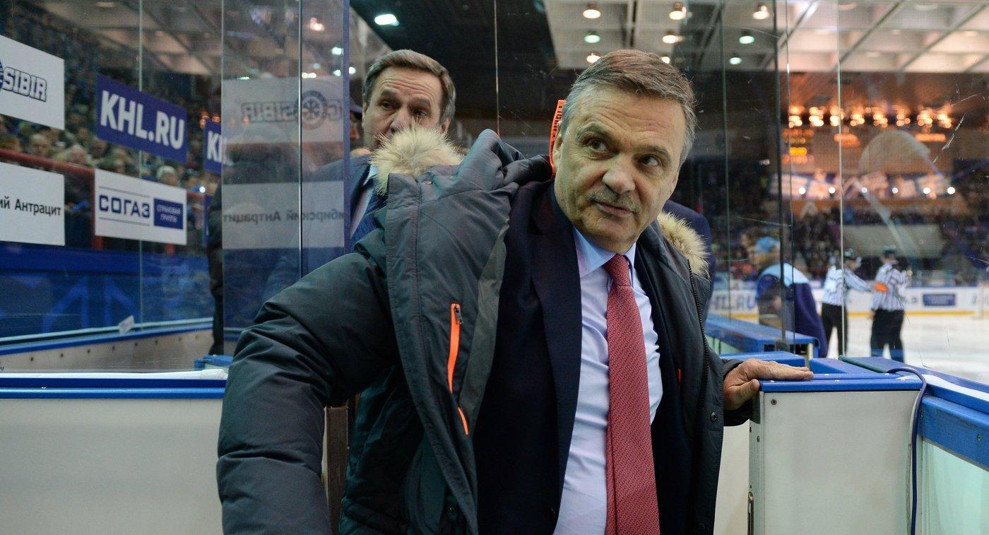 Глава Международной федерации хоккея (IIHF) Рене Фазель