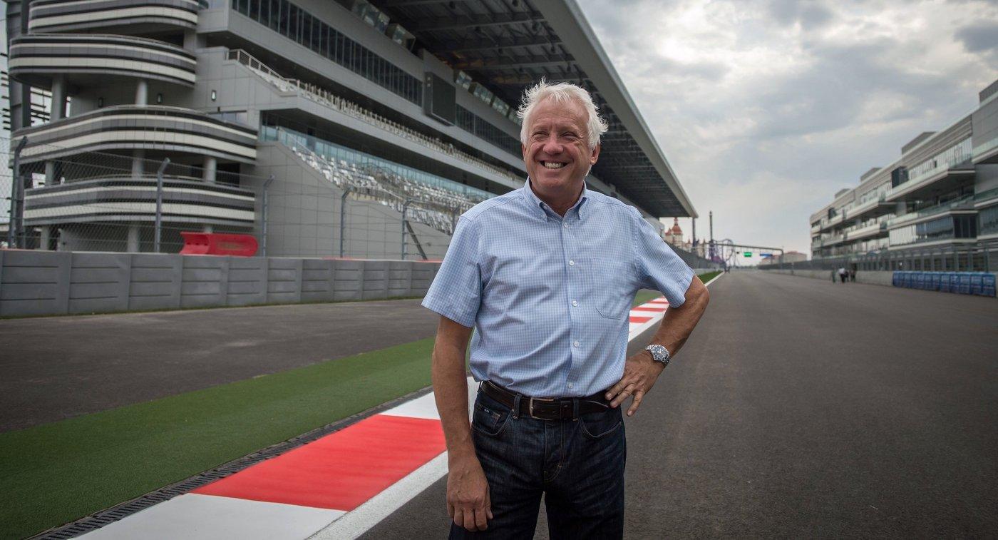 Гоночный директор Формулы-1 Чарли Уайтинг