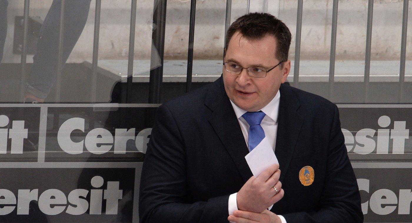 Главный тренер сборной Казахстана Андрей Назаров
