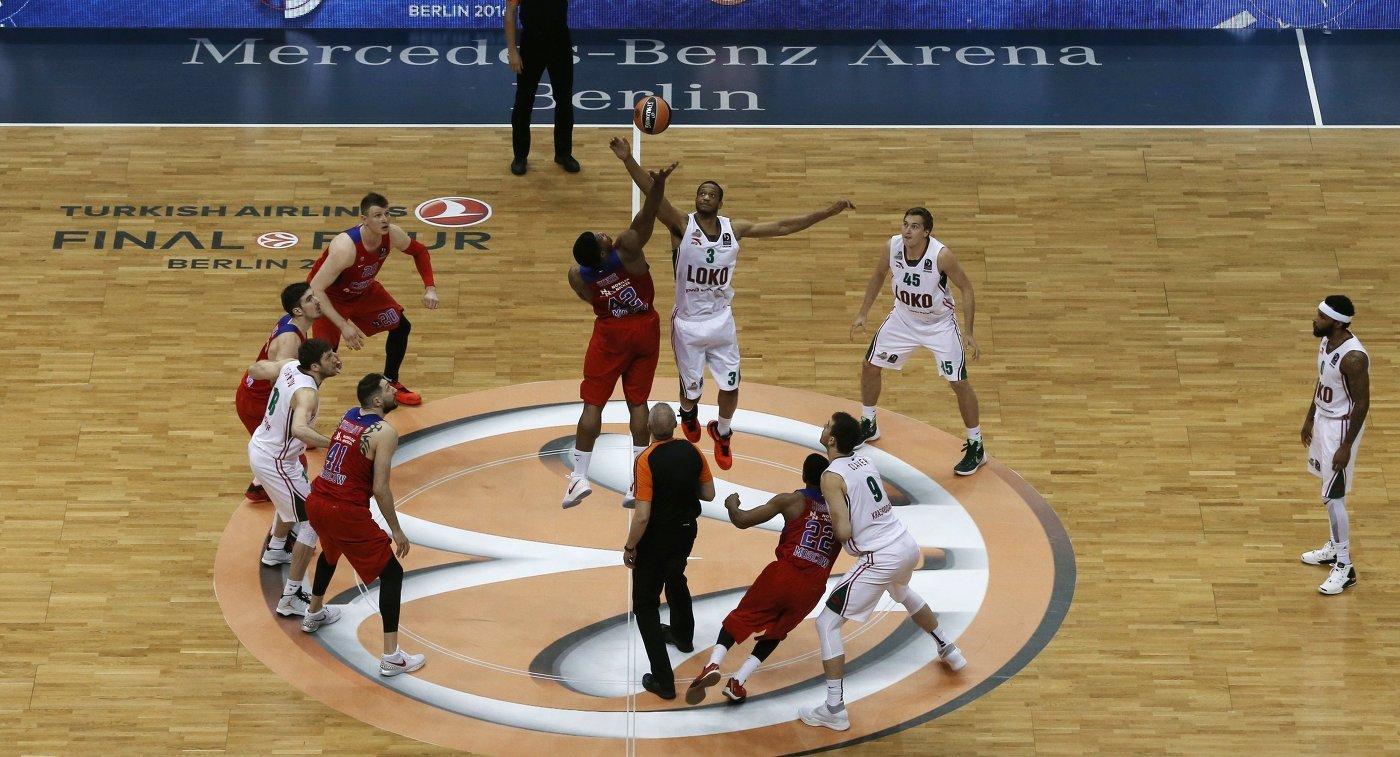 Баскетбол: «Финал четырех» Евролиги-2018/19 состоится вВитории