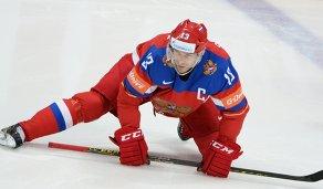 Форвард сборной России Павел Дацюк