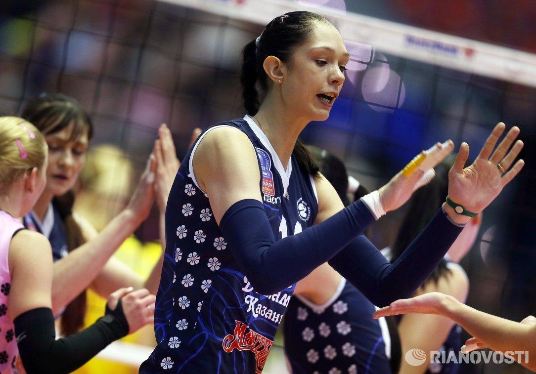 Диагональная Динамо-Казань Екатерина Гамова