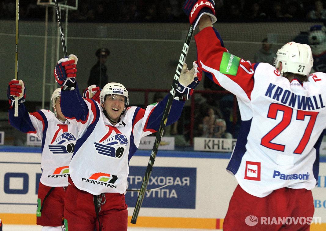 Хоккей. КХЛ. Матч Сибирь - Локомотив