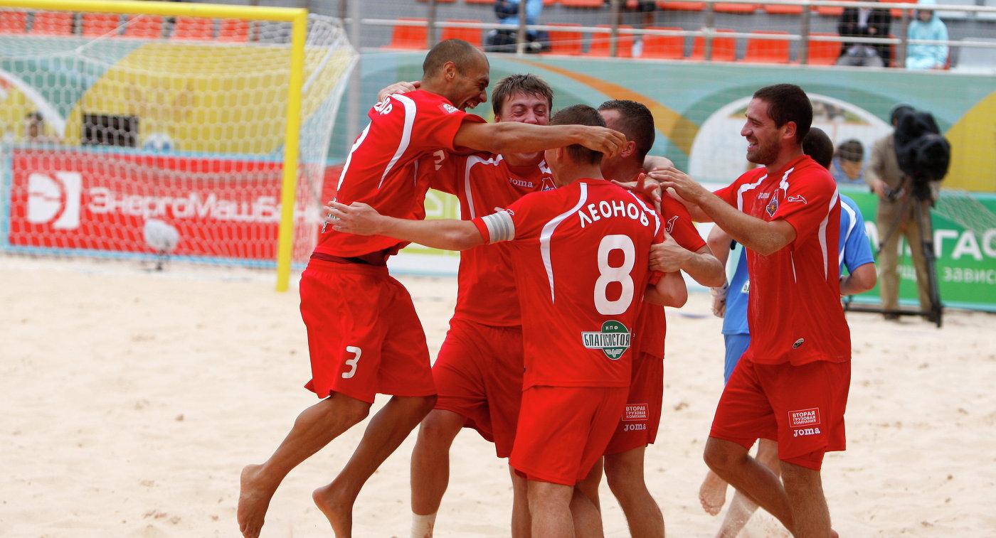 «Локомотив» одержал победу клубный чемпионат мира попляжному футболу