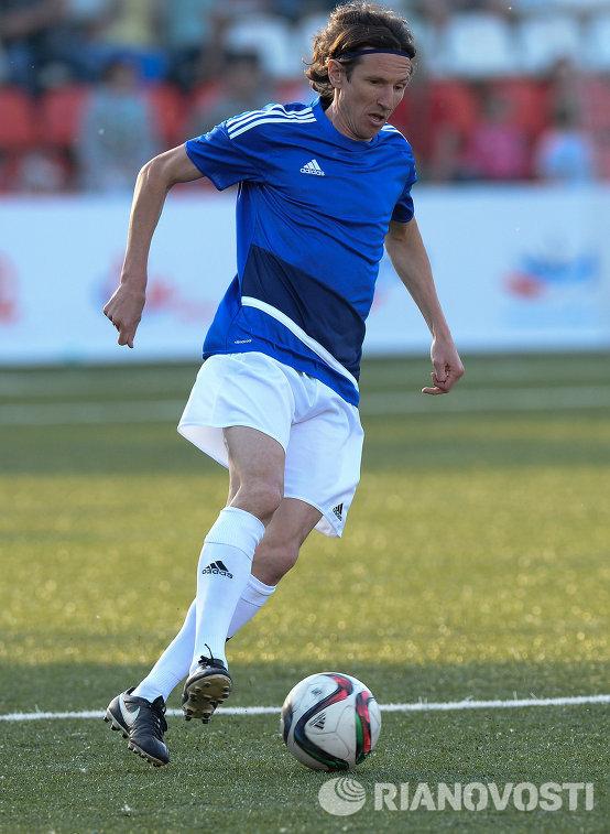 Экс-полузащитник сборной России Алексей Смертин