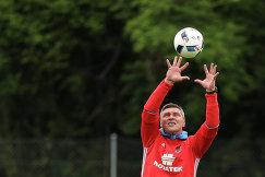 Тренер сборной России по футболу Сергей Овчинников