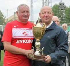 Юрий Гаврилов и Игорь Стрельцов (слева направо)