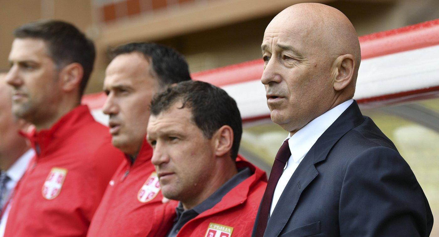 Муслин покинул пост основного тренера сборной Сербии