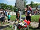 Мемориальная доска у дома Мохаммеда Али в Луисвилле
