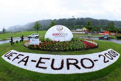Символика Евро-2008 в Инсбруке