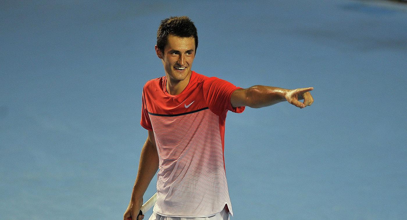 Австралийский теннисист Бернард Томич