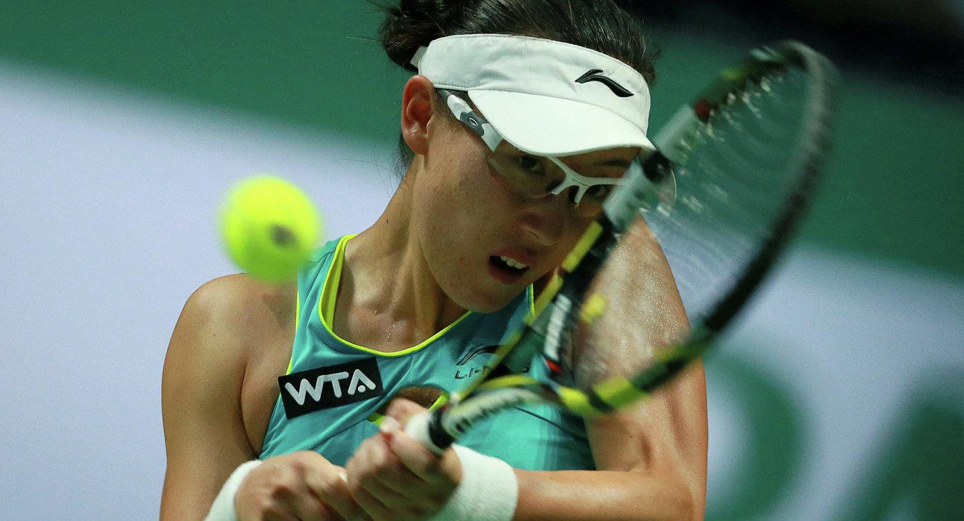 Китайская теннисистка Чжэн Сайсай