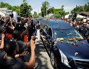 Прощание с Мохаммедом Али в его родном городе Луисвилла