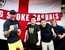 Болельщики сборной Англии в Марселе