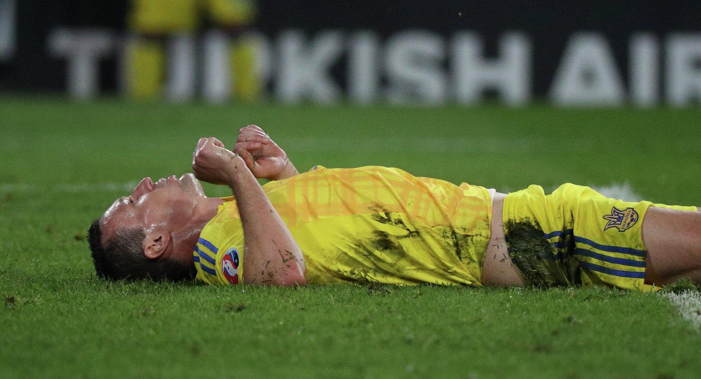 Украинский футболист получил полицу от собственных фанатов после матча