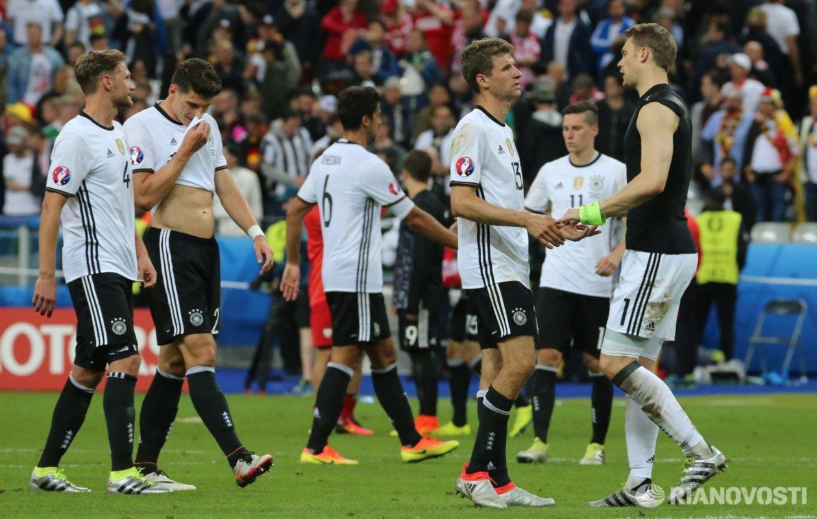 ФуФутболисты сборной Германии