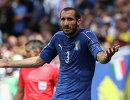 Защитник сборной Италии Джорджо Кьеллини