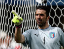 Вратарь сборной Италии Джанлуиджи Буффон