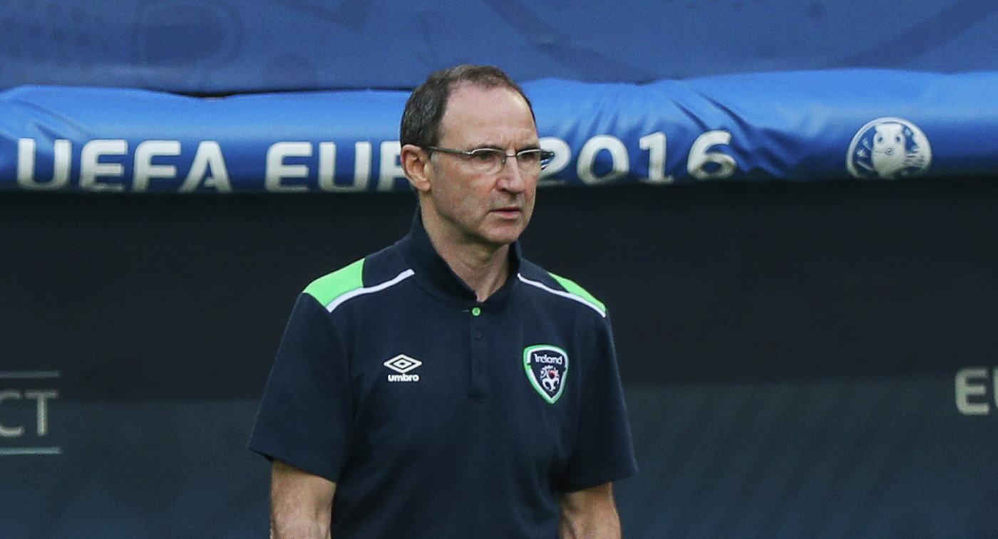 Главный тренер сборной Ирландии О'Нил и его помощник Рой Кин покидают свои посты