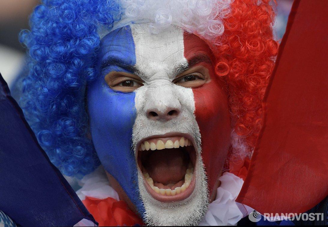 Болельщик сборной Франции