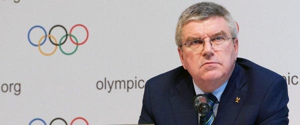 Президент Международного олимпийского комитета Томас Бах