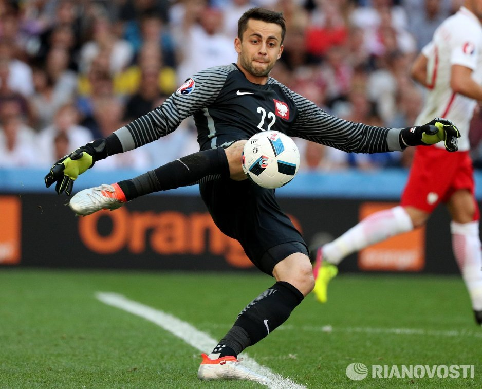 Вратарь сборной Польши Лукаш Фабианский