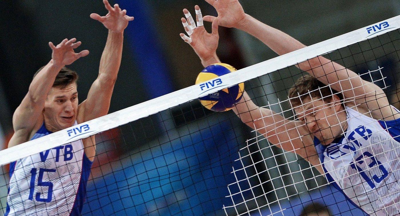 Шестеро дебютантов вошли всостав сборной Российской Федерации поволейболу наЛигу наций