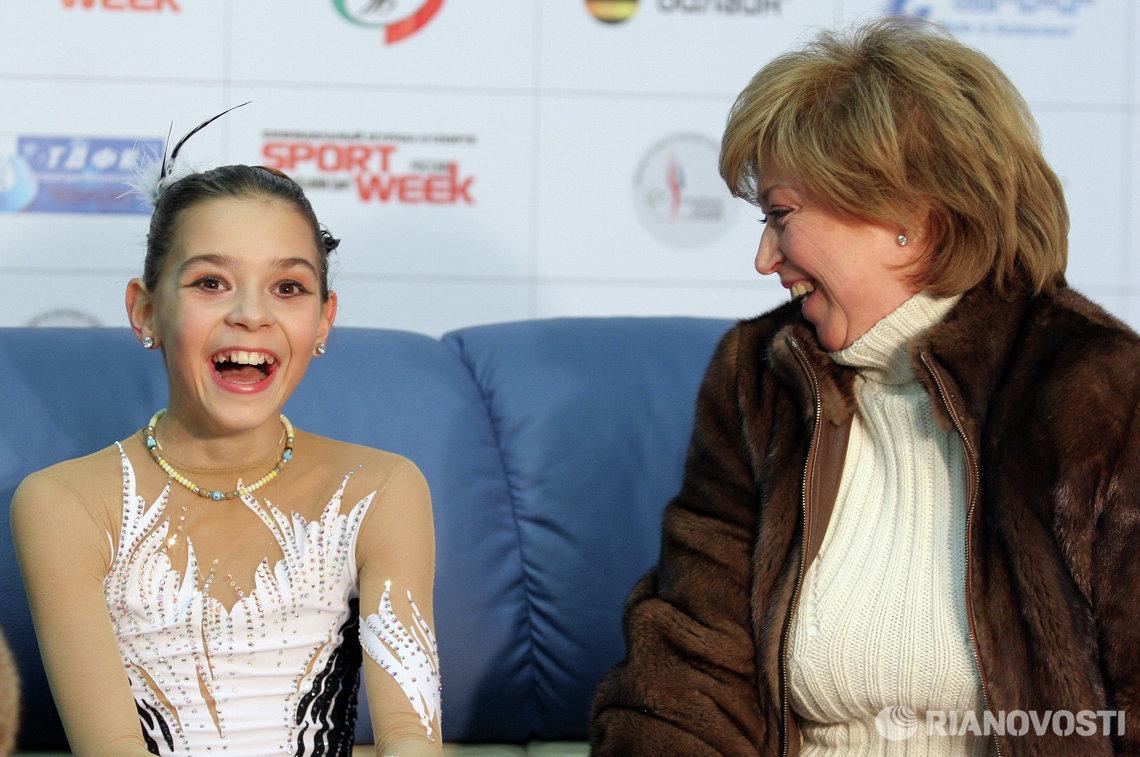 Аделина Сотникова (слева) и Елена Водорезова