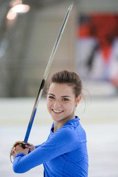 Российская фигуристка Аделина Сотникова