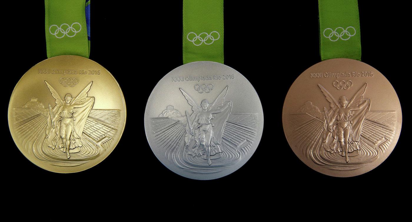 Медали летних Олимпийских игр 2016 года в Рио
