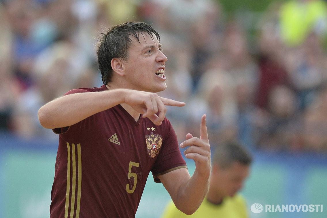 Защитник сборной России Юрий Крашенинников