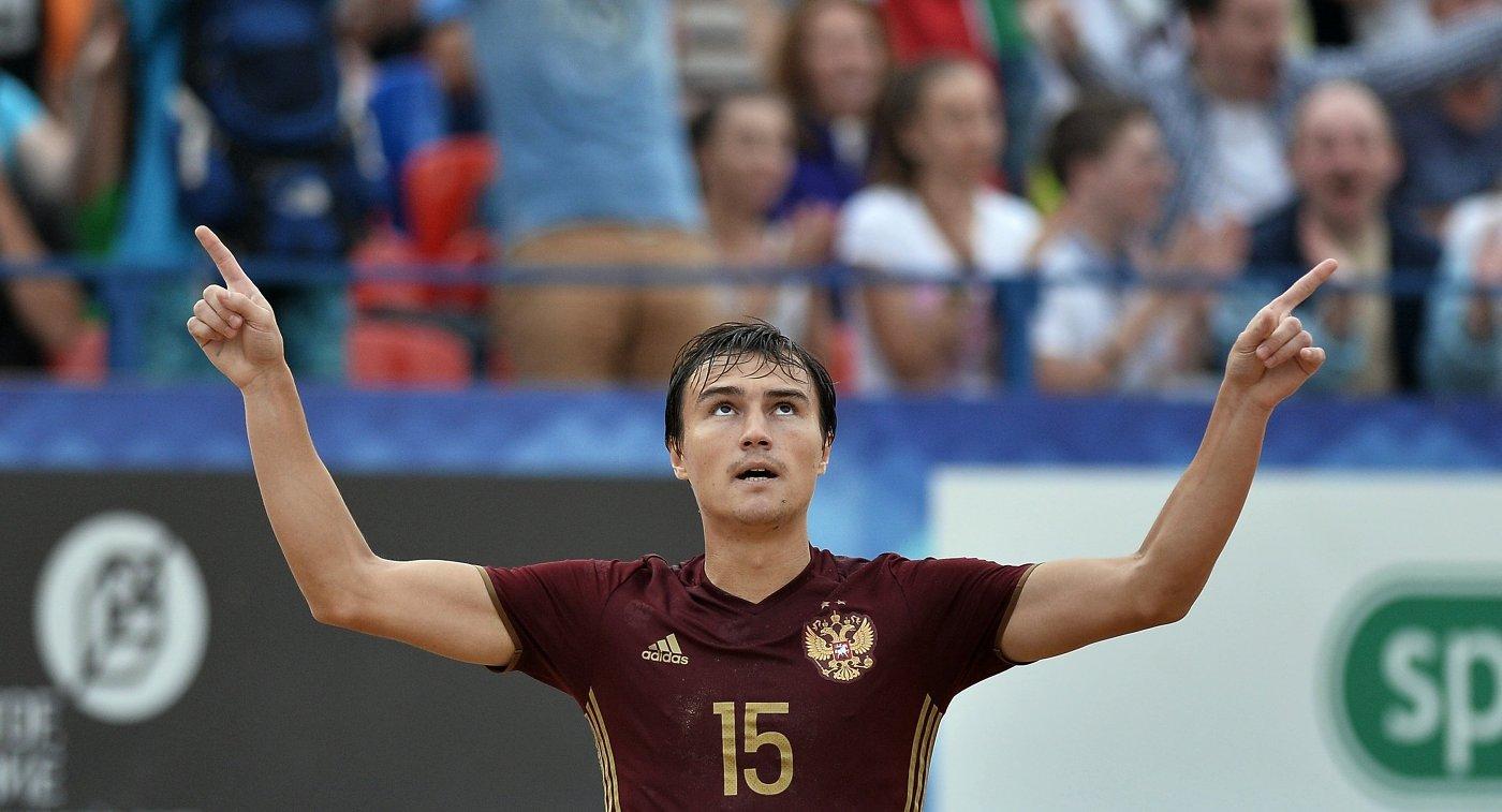 Сборная РФ попляжному футболу одержала победу вСуперфинале Евролиги