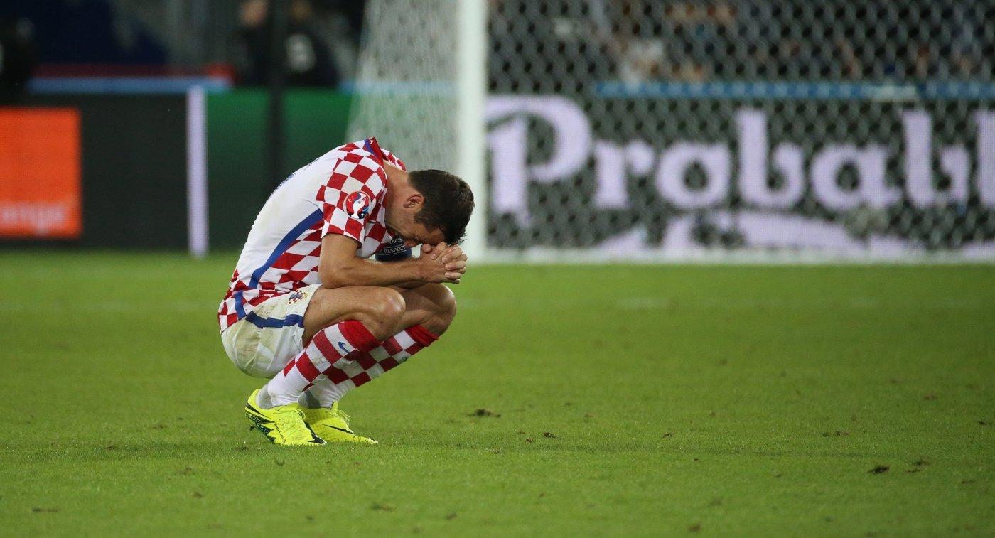 Защитник сборной Хорватии Дарио Срна