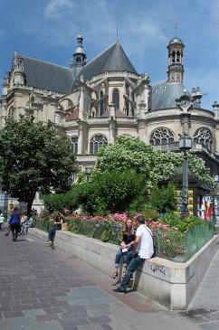Церковь Сент-Эсташ в Париже