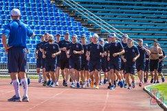 Хоккеисты Лады во время тренировки летом 2016 года