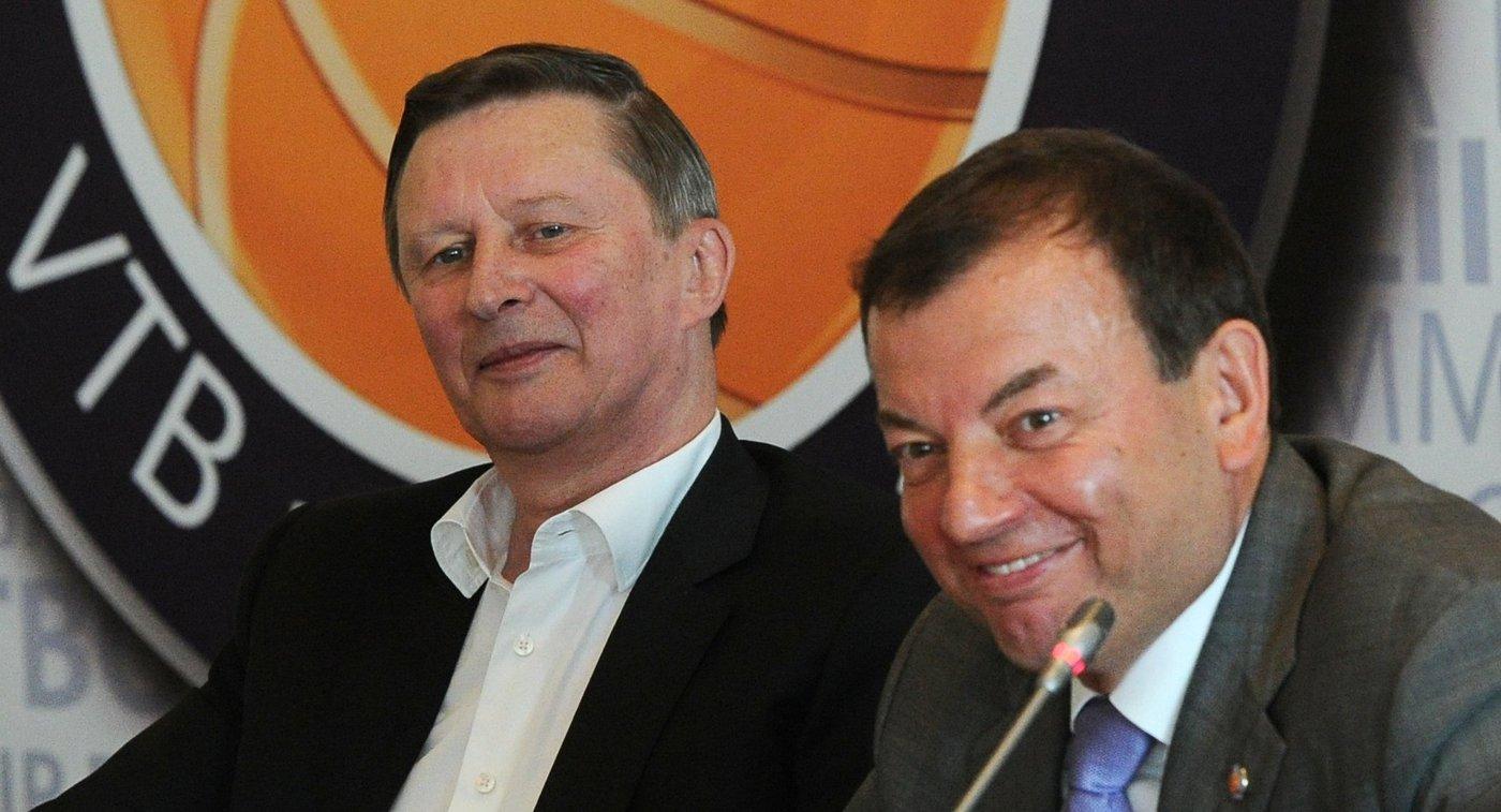 Сергей Иванов (слева) и Сергей Кущенко
