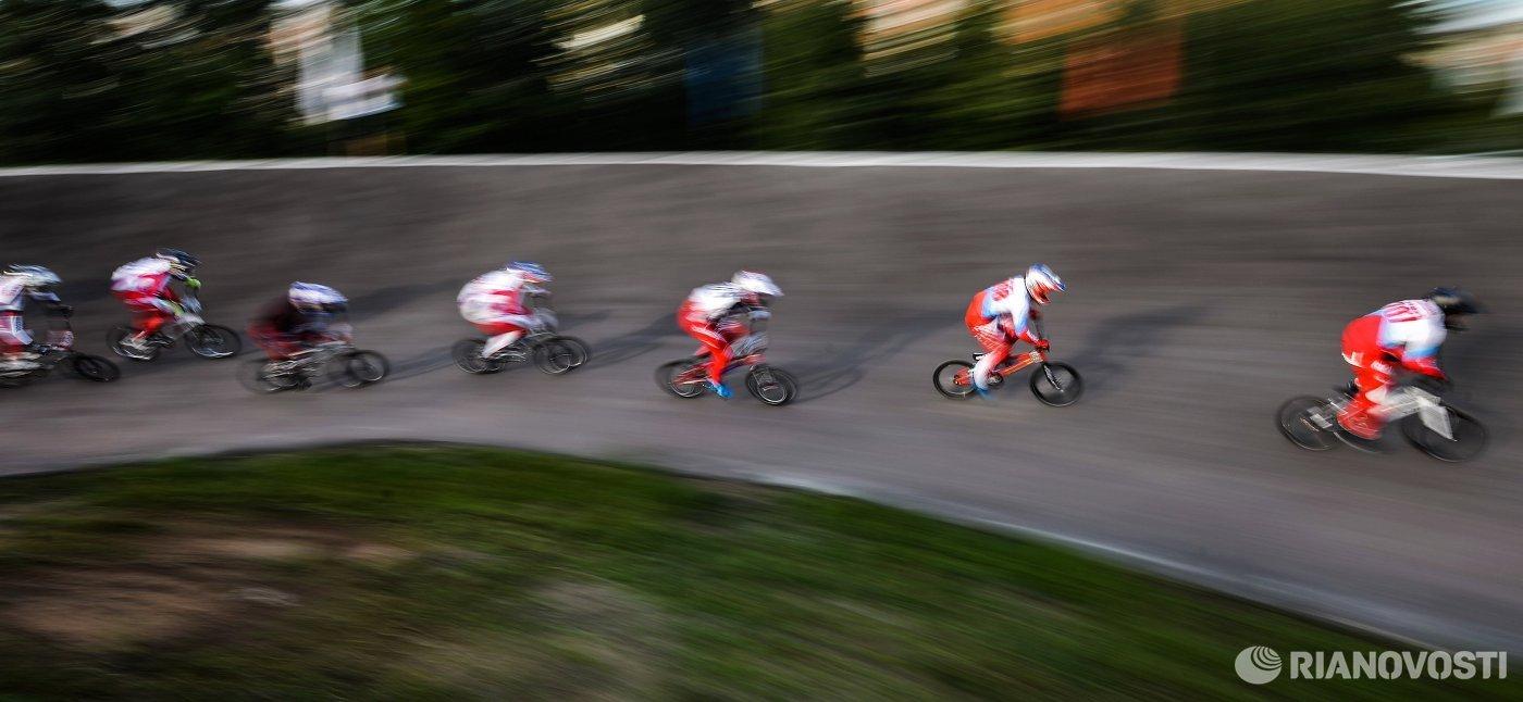 Афремова стала третьей на этапе Кубка Европы по велоспорту-ВМХ в Бельгии