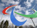 Эмблема XI зимних Паралимпийских игр в Сочи