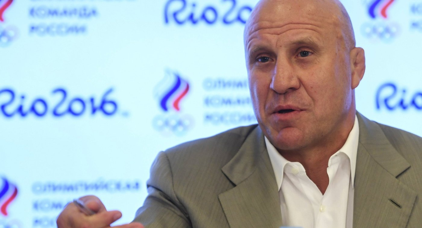 Президент Федерации спортивной борьбы России (ФСБР) Михаил Мамиашвили